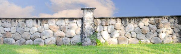 Ilustrační foto (www.shutterstock.com), kamenný plot