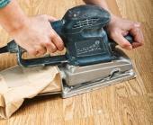 Ilustrační foto (www.shutterstock.com), broušení dřevěné podlahy