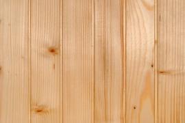 Detail dřevěných palubek