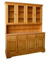 Foto: UNIS-N, dřevěná kredenc