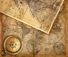 Ilustrační foto (www.shutterstock.com), staré mapy
