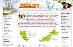 Každá země regionu má své vlastní podstránky: zde příklad Malajsie na ASEAN.cz
