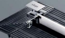 Foto: Viega, sprchový žlábek Viega Advantix Vario - výškově nastavitelný rošt