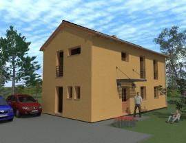 3D vizualizace: Dřevostavby MS HAUS, MS 13 Pasiv