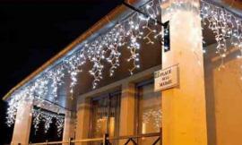 Foto: Repam, světelné rampouchy