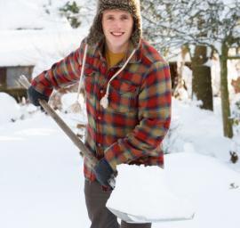Ilustrační foto (www.shutterstock.com), odklízení sněhu