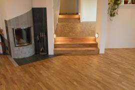 Foto: Dřevěné podlahy Stach, plovoucí dřevěná podlaha