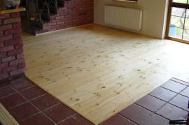 Foto: Dřevěné podlahy Stach, dřevěná prkenná podlaha