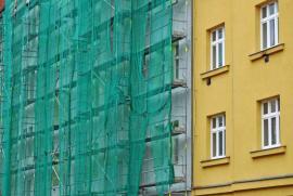 Zateplení staršího městského bytového domu