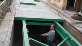 Foto: VÁHY-JAS, mostní váha PROFI zapuštěná, instalace váhy