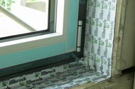 Utěsnění hliníkového okna