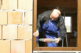 Osazení okna do stavebního otvoru