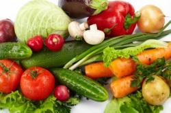 Čerstvá zelenina je základem zdravého stravování