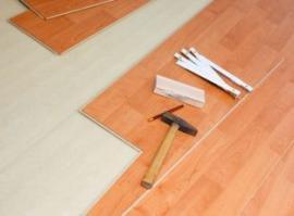 Pokládání plovoucí podlahy