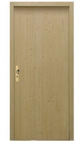 Palubkové vchodové dveře, vzor A