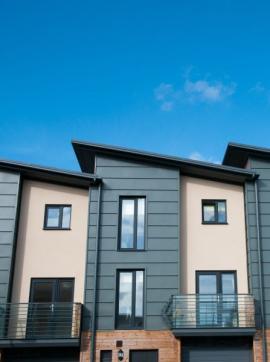Řadová výstavba rodinných domů
