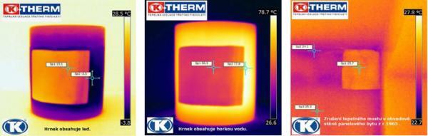 Snímky termokamerou