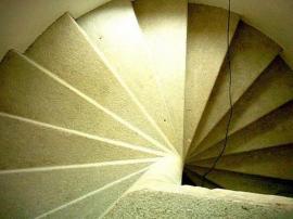 Renovované schodiště