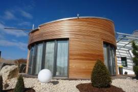 Kulatý pasivní dům v Německu, rok výstavby 2010