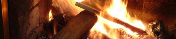 Detail ohniště