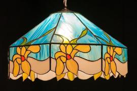 Tiffany závěsné svítidlo na strop