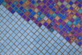 Mozaika provedená technikou fusing