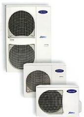 Venkovní jednotky invertorových tepelných čerpadel vzduch-voda