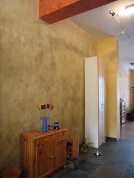 Stěny a strop upravené produkty Kreidezeit