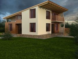 Pultová střecha, 3D vizualizace domu
