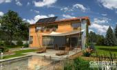 Projekt rodinného domu GS PASIV 3