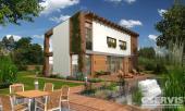 Projekt rodinného domu GS PASIV 4