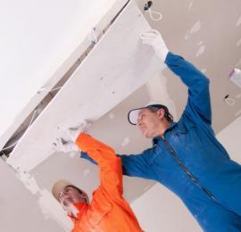 Realizace sádrokartonového stropního podhledu