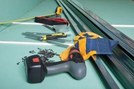 Potřebné vybavení pro práci se sádrokartonem