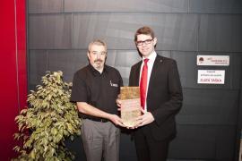 Přebírání ocenění Zlatá taška 2012