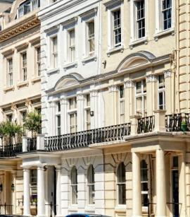 Rezidenční bytové domy ve staré městské zástavbě