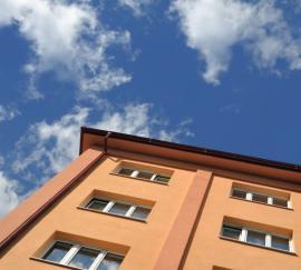 Zateplený zděný bytový dům