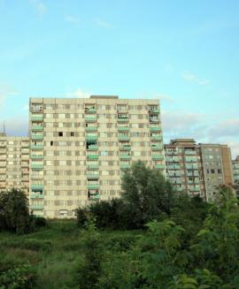 Nezateplené panelové bytové domy