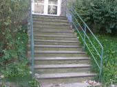 Stav schodiště před renovací