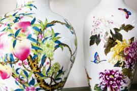 Malované vázy
