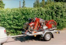 Přepravník motocyklů Kangaro