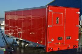 Skříňový přívěsný vozík Dona Cargovan