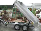 Přívěsný vozík Athos B2 - hydraulický sklápěč
