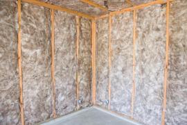 Tepelná izolace lehké skeletové dřevostavby