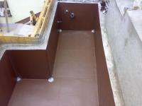 PVC izolace bazénu