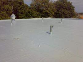 PVC izolace ploché střechy
