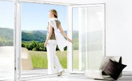 Okna a terasové dveře z profilu GENEO