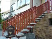 Plastové schodišťové zábradlí