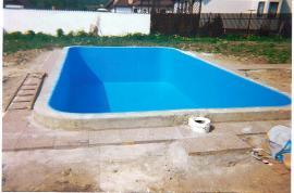 Hydroizolace bazénu z měkčeného PVC