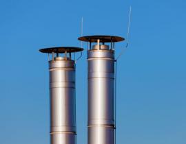 Fasádní komíny