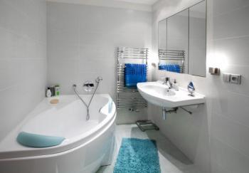 Vybavení malé koupelny